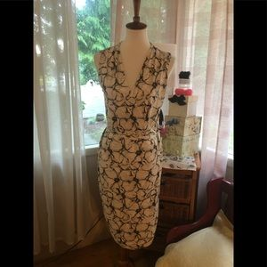 Vintage Anne Klein super silky feel  wrap dress M